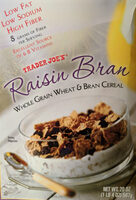 Raisin Bran Whole Grain Wheat & Bran Cereal - Product - en