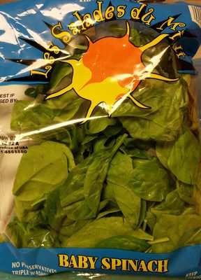 Baby Spinach - Product