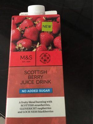 Scottish berry juice drink - Produit - fr