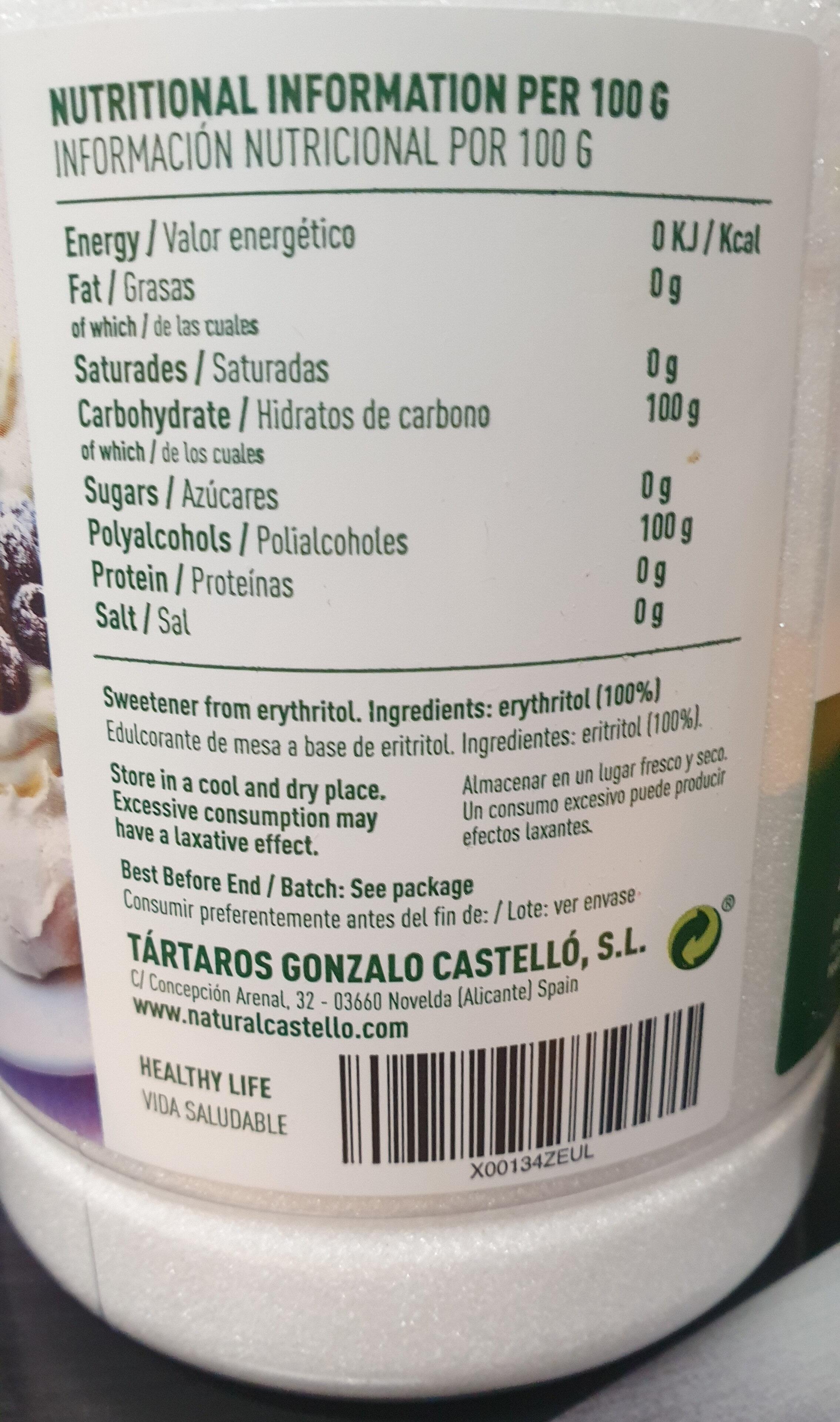 Erythritol - Produit - es
