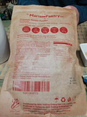 sumac powder - Produit - fr