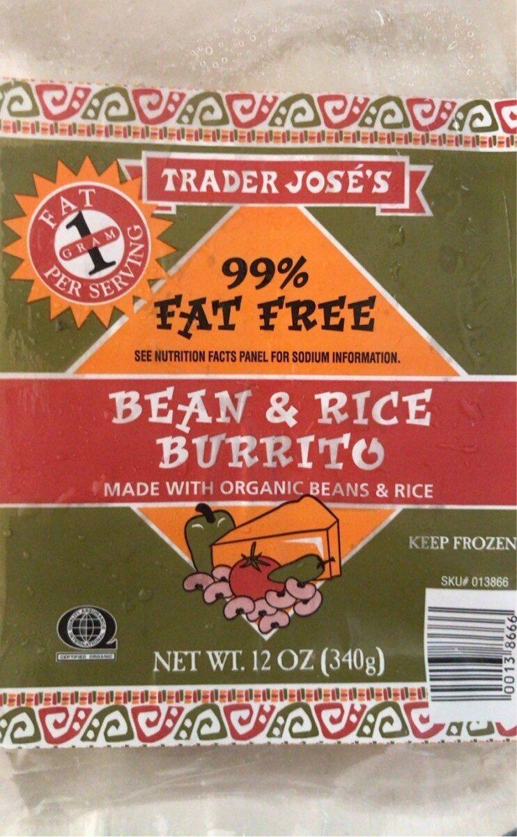 Bean & Rice Burrito - Product - en