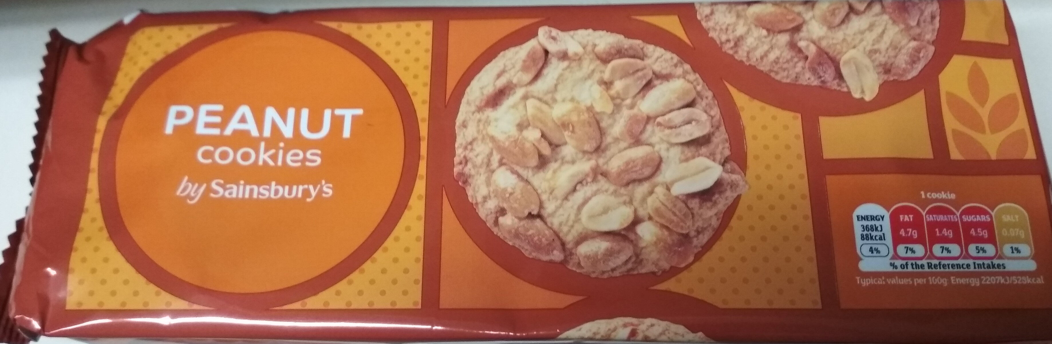 Peanut Cookies - Product