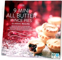 9 Mini All Butter Mince Pies - Product