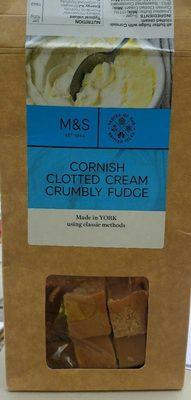 Cornish Clotted Cream Crumbly Fudge - Produit - fr