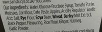 Brown Sauce - Ingredients - en