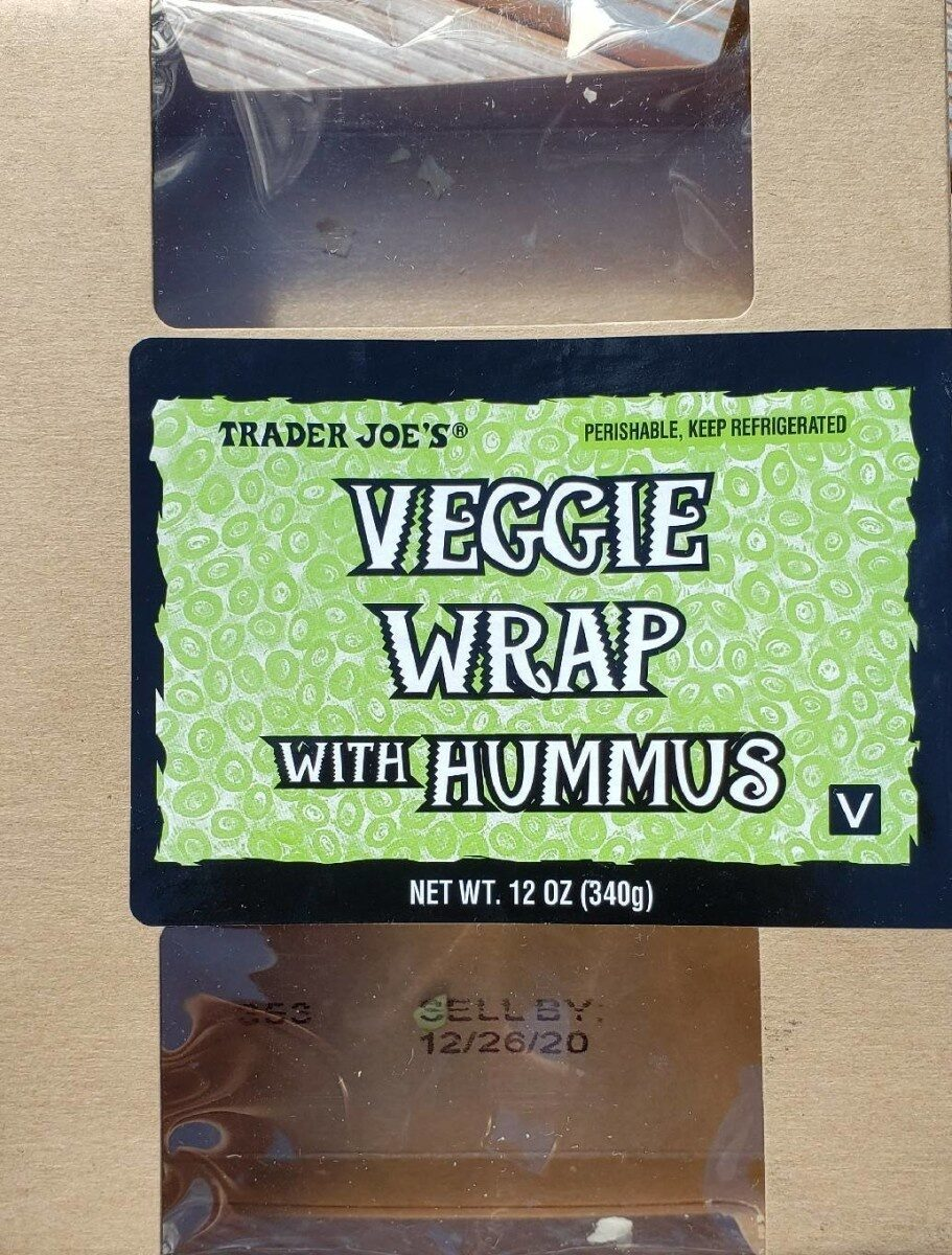 Veggie wrap with hummus - Product - en