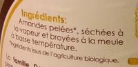 Amandino Blanches - Ingrédients - fr