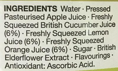 Agua fresca - Ingrédients