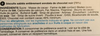 Extremely chocolate - Ingredients