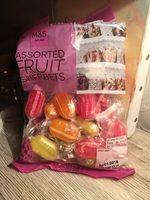 Assorted fruit sherbets - Produit - fr