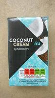 Coconut Cream by Sainsbury's - Produit - en