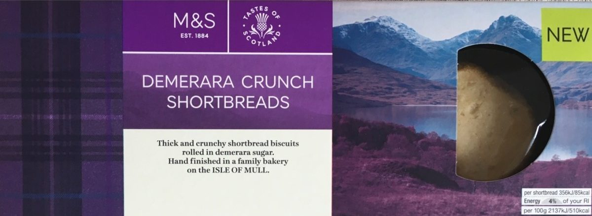 Demerara Crunch Shortbreads - Product