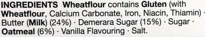 Demerara Crunch Shortbreads - Ingredients