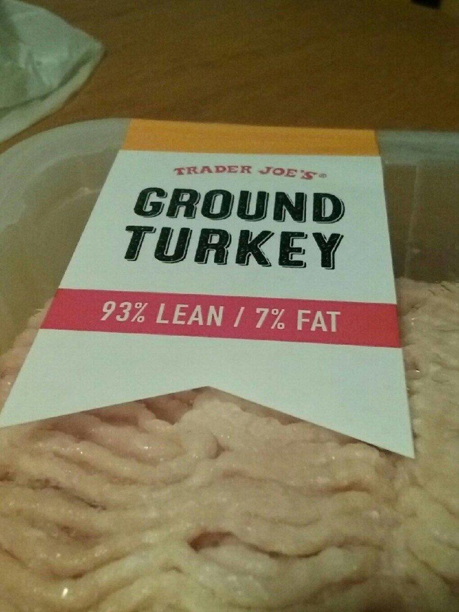 Ground turkey 93% Lean - Product - en