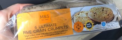 Ultimate Five Grain Crumpets - Product