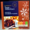 Orange & Cranberry Pudding - Product