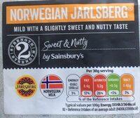 Norwegian jarlsber cheese - Produit - en