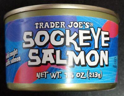 Sockeye Salmon (pacific salmon, wild caught, canned) - Produit - fr
