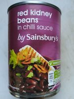 Red Kidney Beans in chili sauce - Produit
