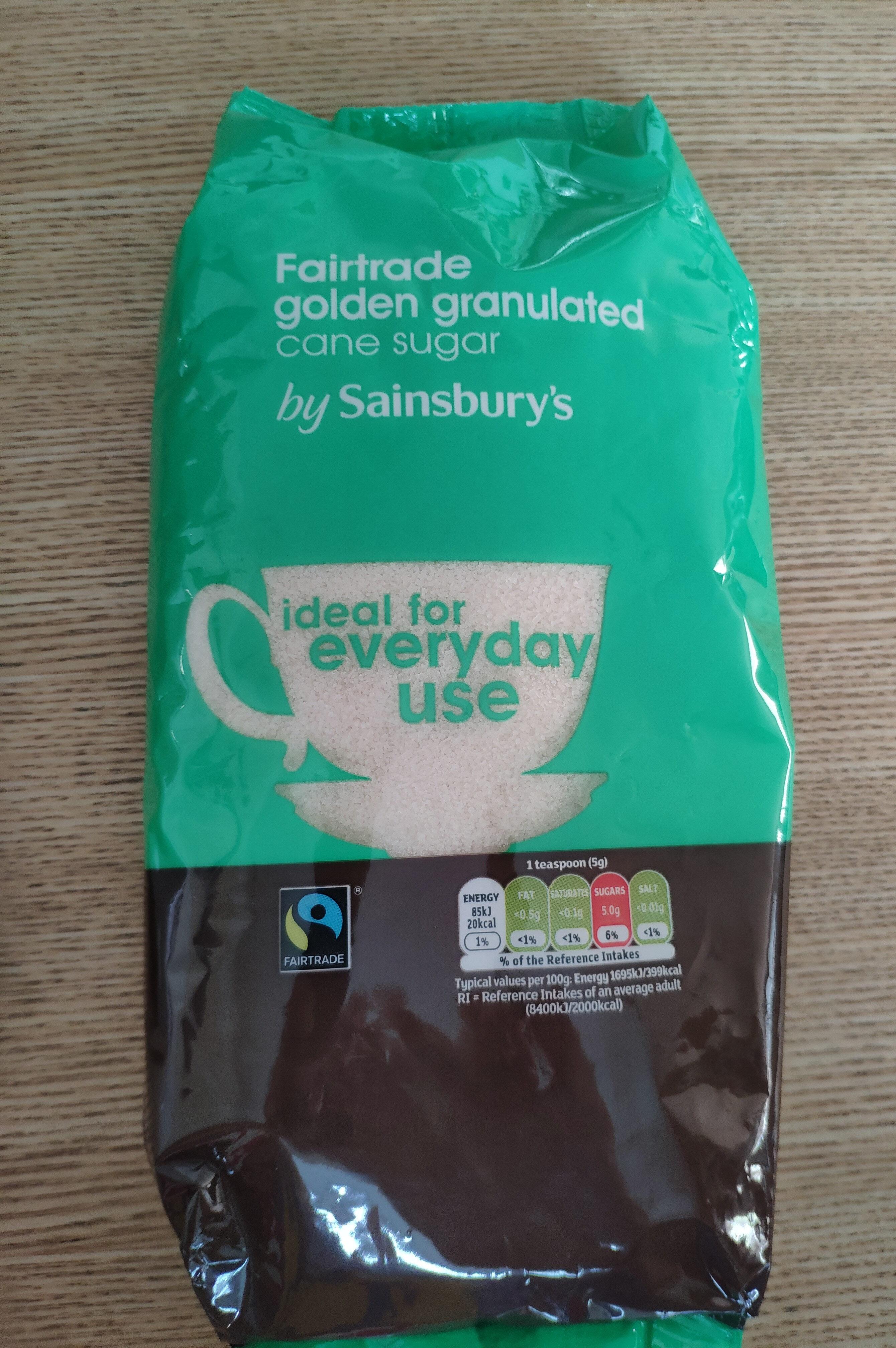 Fairtrade golden granulated cane sugar - Produit - en