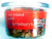 cut mixed peel - Produit - en