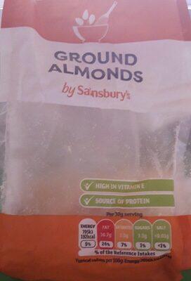 Ground almonds - Produit - en