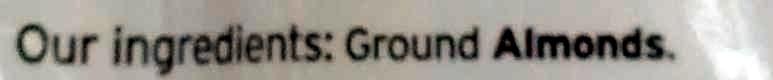 Ground almonds - Ingrédients - en