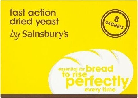 Fast Action Dried Yeast 8 Sachets - Prodotto - en