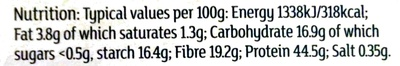 Fast action dry yeast - Nutrition facts - en