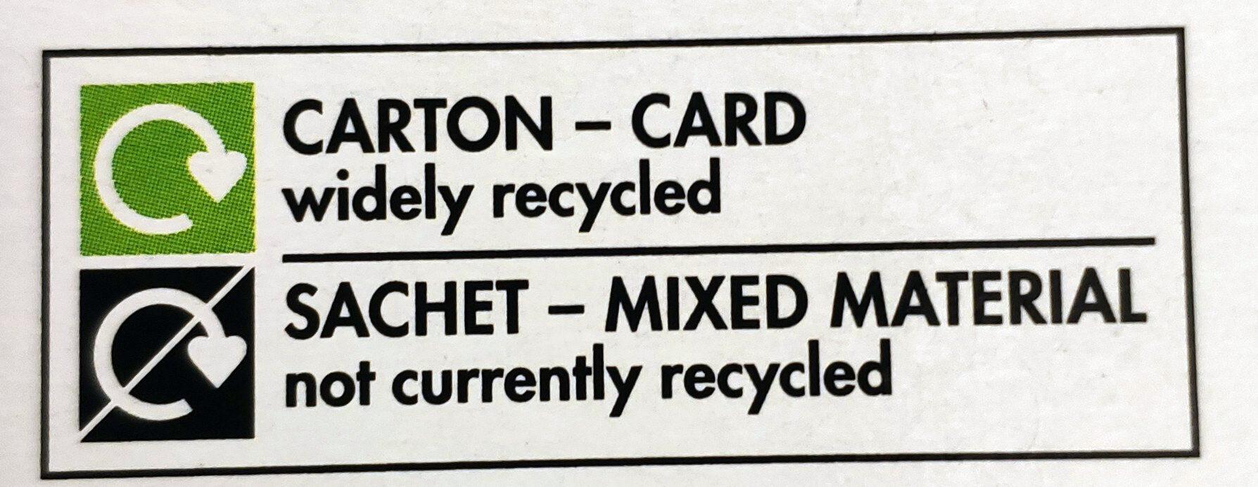 Fast Action Dried Yeast 8 Sachets - Istruzioni per il riciclaggio e/o informazioni sull'imballaggio - en