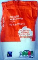 Fairtrade white caster sugar - Produit - en
