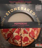 Stonebaked Pepperoni Pizza (Hand Stretched) - Produit