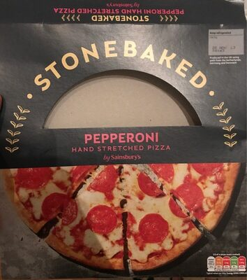 Stonebaked Pepperoni Pizza (Hand Stretched) - Produit