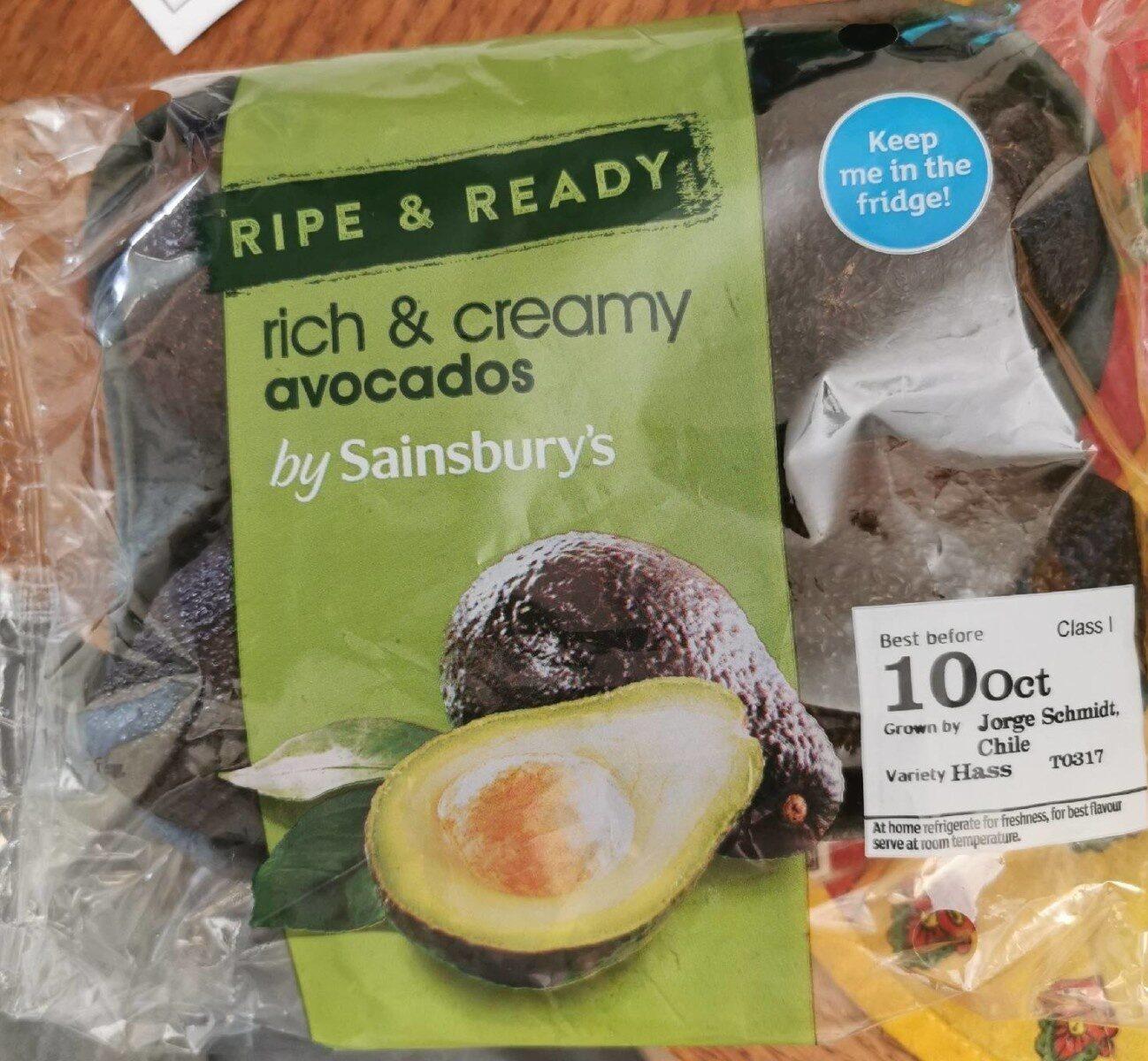 Rich & creamy avocados - Product