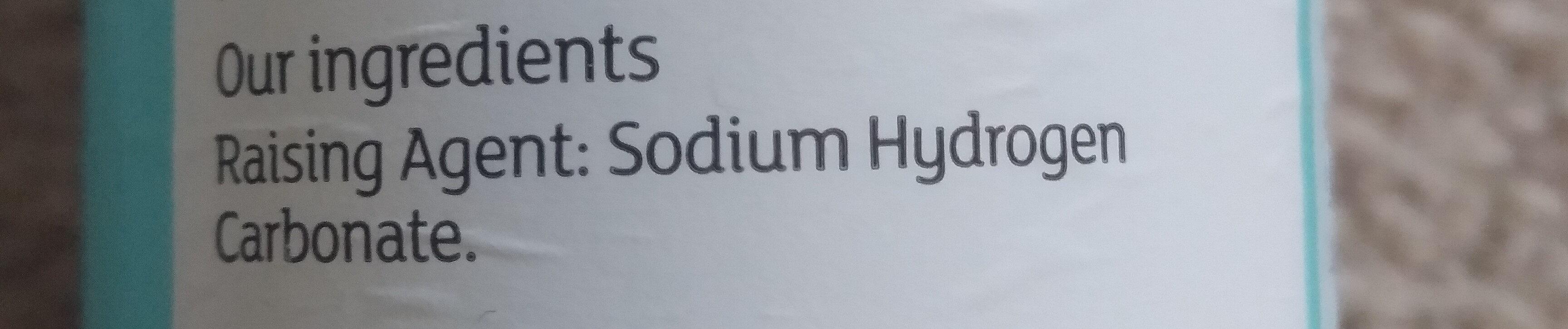 bicarbonate of soda - Ingrédients - en