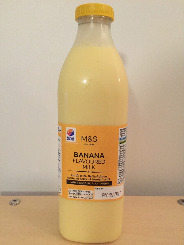 Banana flavoured milk - Product