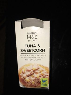Tuna & Sweetcorn - Produit - fr