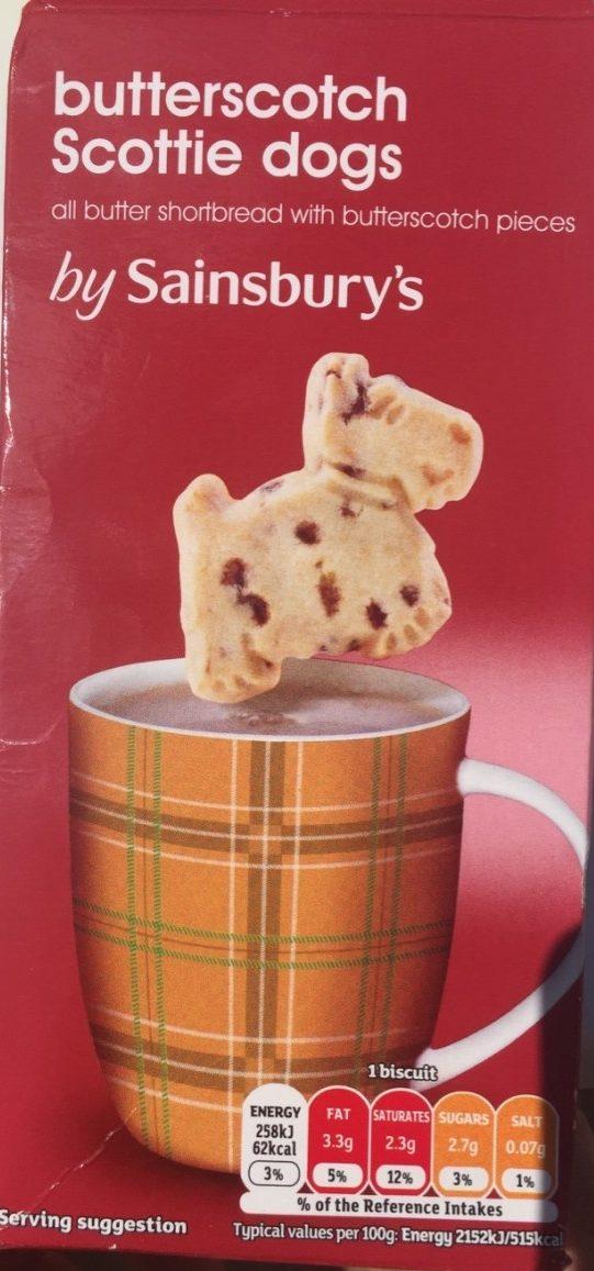 Butterscotch Scottie Dogs - Product - fr