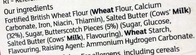 Butterscotch Scottie Dogs - Ingredients - fr