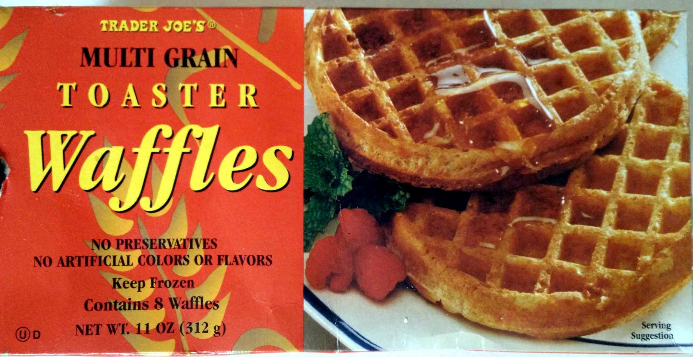 Multigrain Toaster Waffles - Trader Joe's - 11 OZ (312 g)
