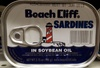 Sardines in soybean oil - Product