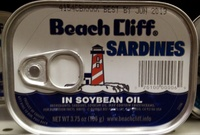 Sardines in soybean oil - Produit