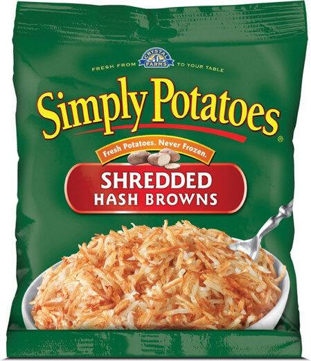 Shredded hash browns - Product - en