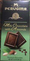 PERUGINA MILK CHOCOLAT WITH ALMONDS - Product