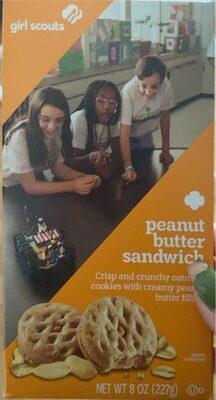 Peanut Butter sandwhich - Produit - en