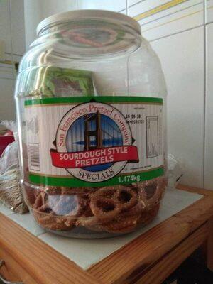 San Francisco Pretzel Company Sourdough - Producte - en