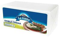 Queso doble crema La Villita por kg - Informations nutritionnelles - es