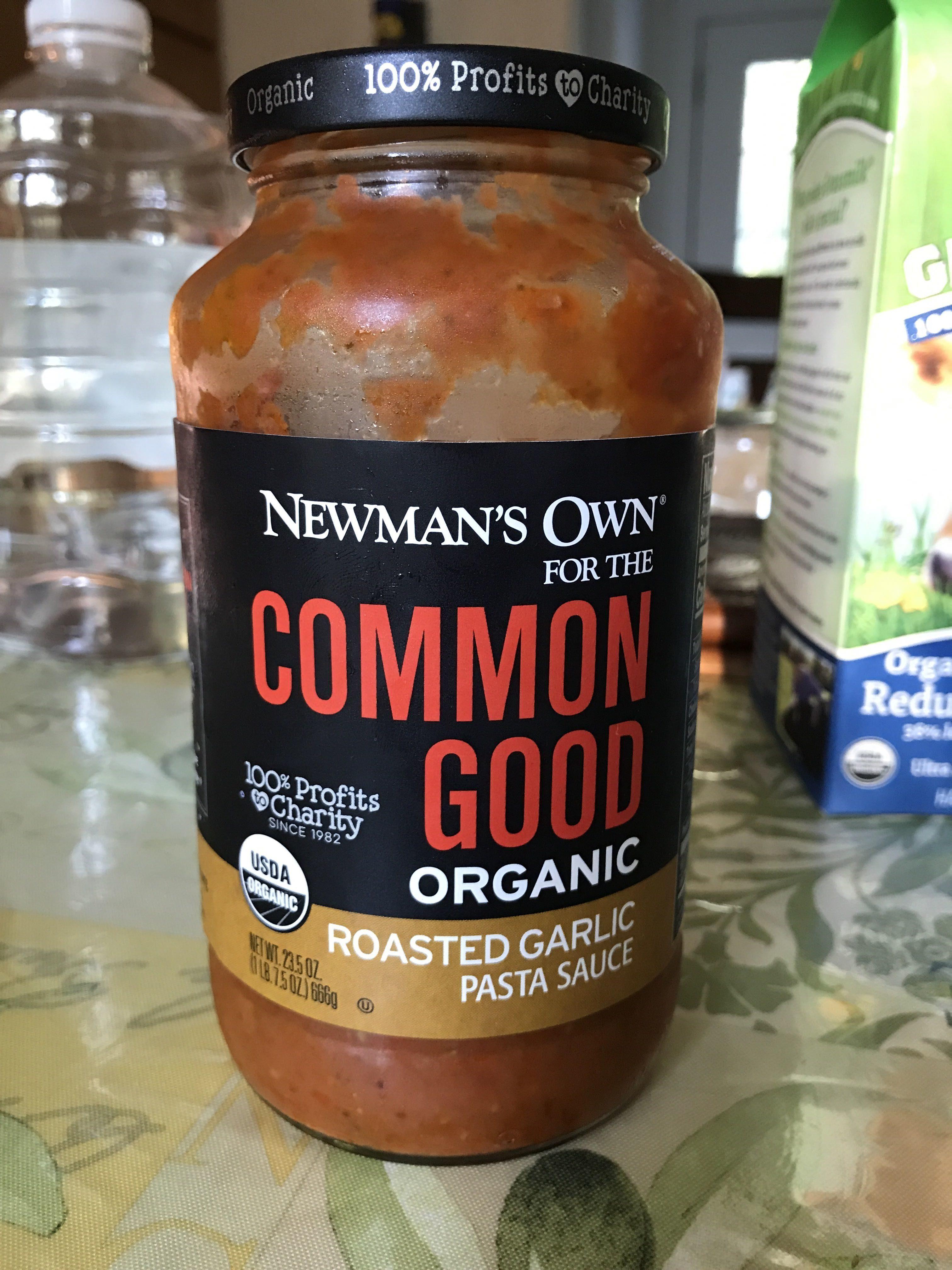 Newman's own, organic pasta sauce, roasted garlic - Product - en
