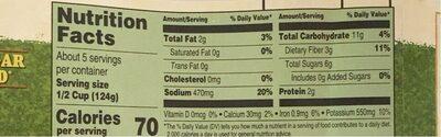 Tomato & basil bombolina pasta sauce - Valori nutrizionali - en